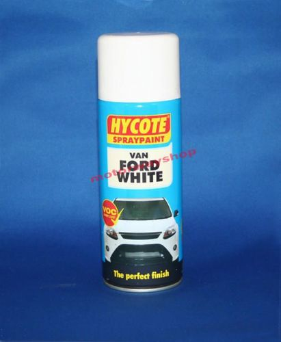 Van Ford Diamond White Spray Paint Hycote 400ml Aerosol